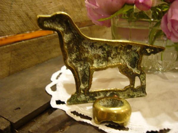 画像3: 暖炉のスティック置き(犬)