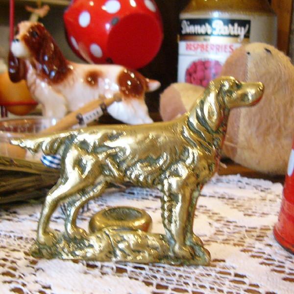 画像2: 暖炉のスティック置き(犬)